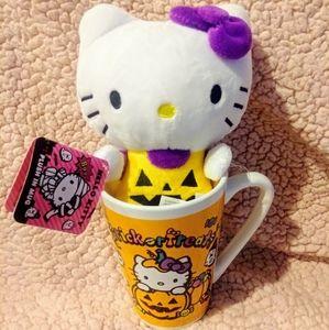 Hello Kitty mug & plush